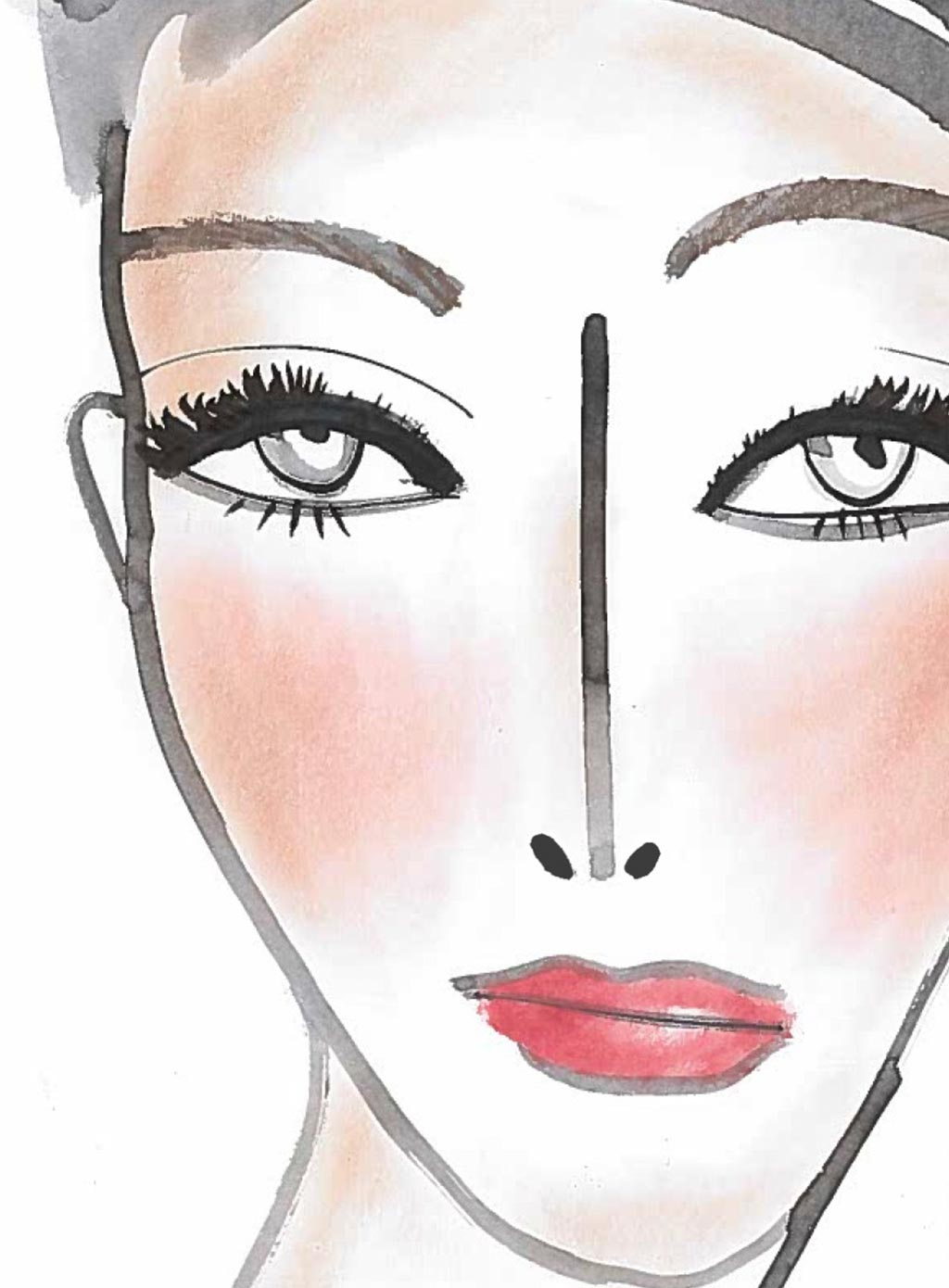 How to: create a full face using only Nars products