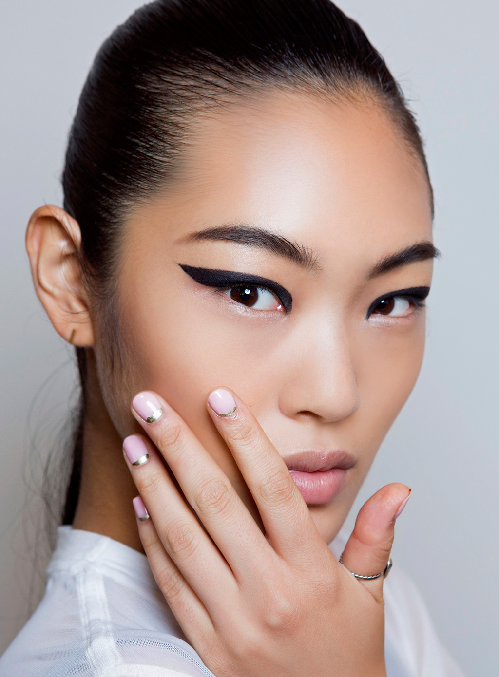 Is the French manicure back?